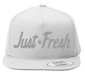 Just Fresh White Snapback