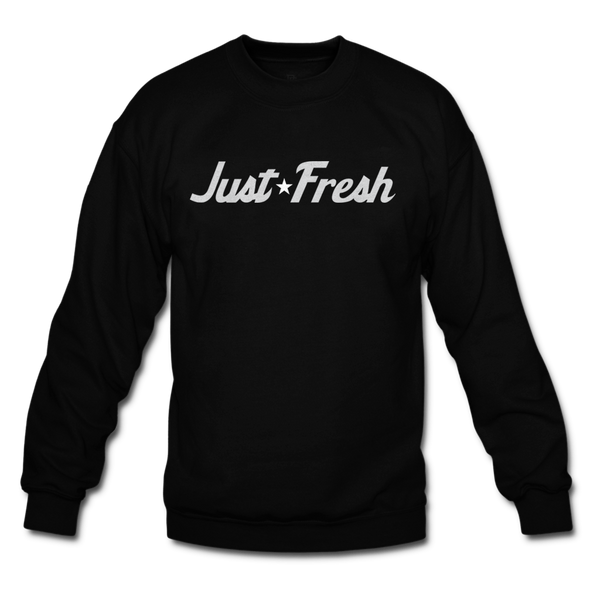 Just Fresh Black Oreo Crewneck