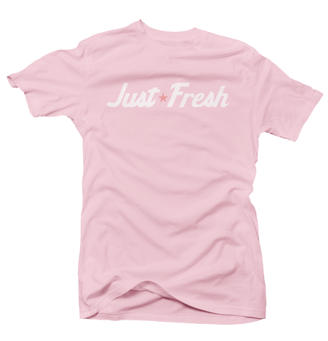Just Fresh Pink Tee