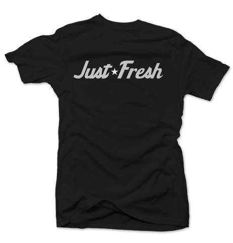 Just Fresh Black Oreo Tee