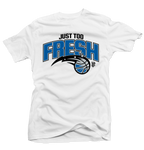 Too Fresh White Tee - Bobby Fresh