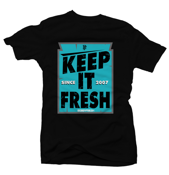 Keep it Fresh Black Tee