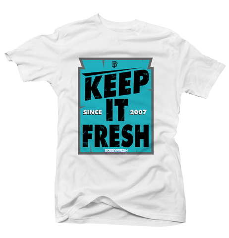 Keep it Fresh White Tee
