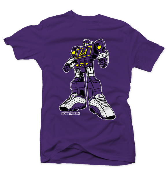 LA Bot Purple Tee