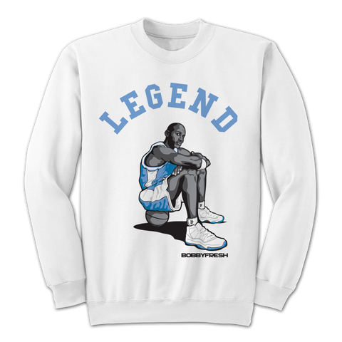 Legend White Crewneck