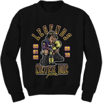Legends Never Die (Kobe) Black Crewneck - Bobby Fresh
