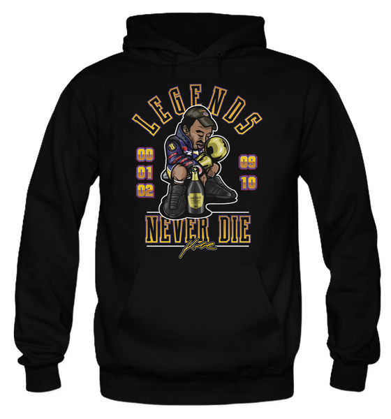 Legends Never Die (Kobe) Black Hoodie - Bobby Fresh