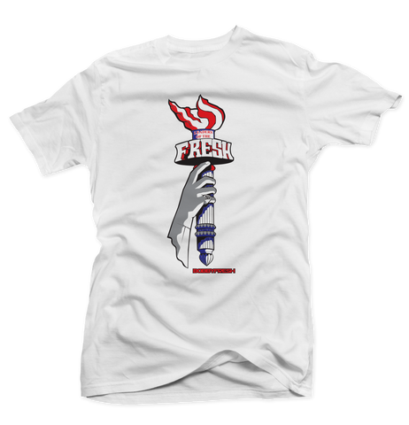 Liberty Fresh USA White Tee