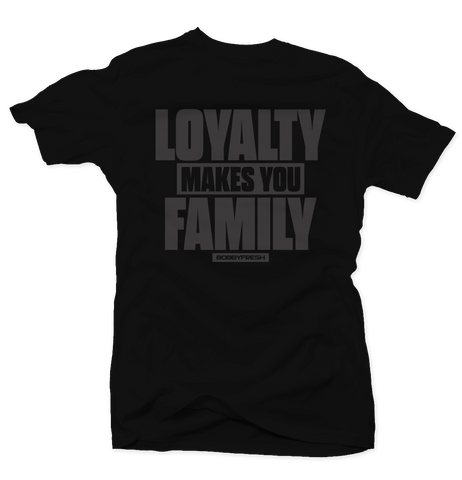 Loyalty Pinnacle 5 Black Tee