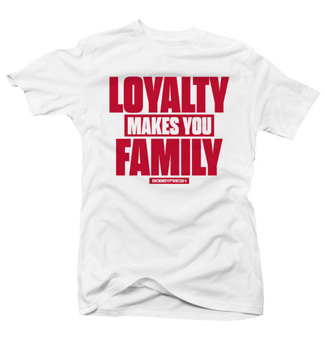 Loyalty History of Flight White Tee