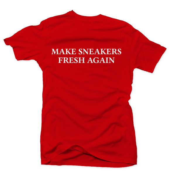 Make Sneakers Great Again Red Tee