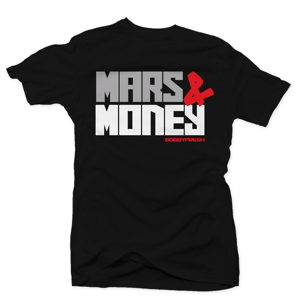 Mars Revolution Black Cement Tee