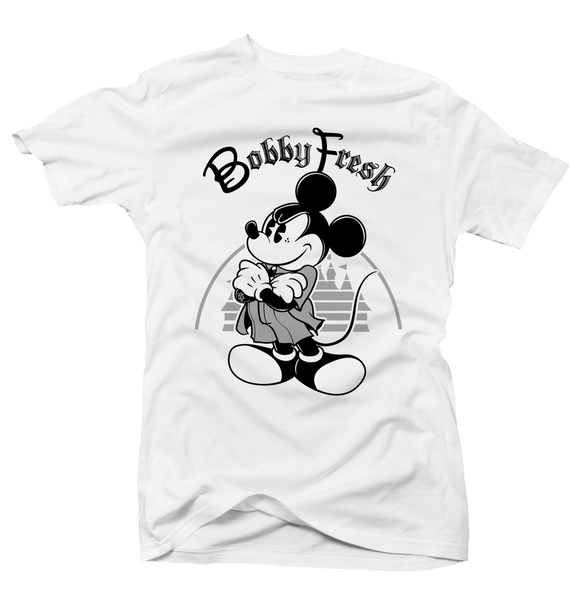 Mickey White (Black Cement) Tee