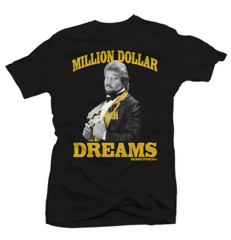 Million Dollar Dreams Black Tee