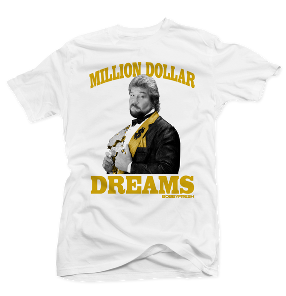 Million Dollar Dreams White Tee