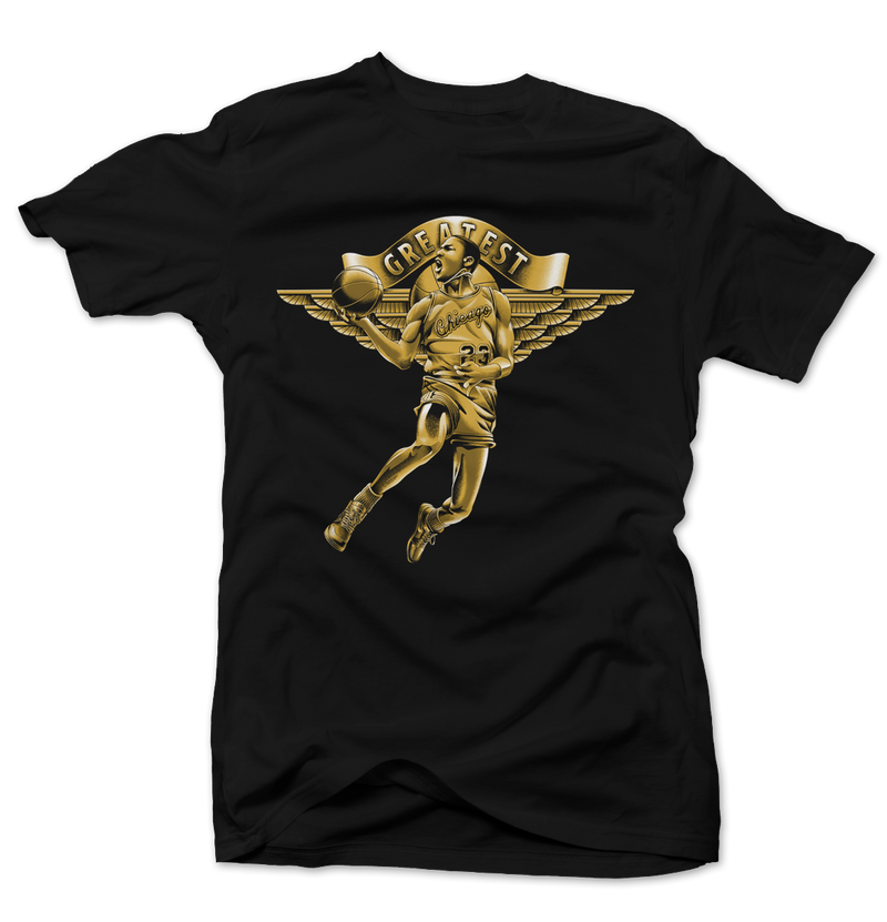 Greatest Black/Gold Tee - Bobby Fresh