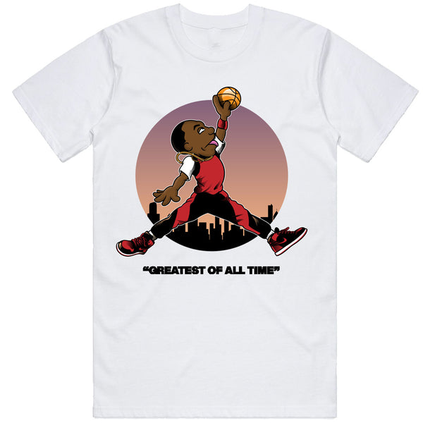 Mj Muppet White Tee
