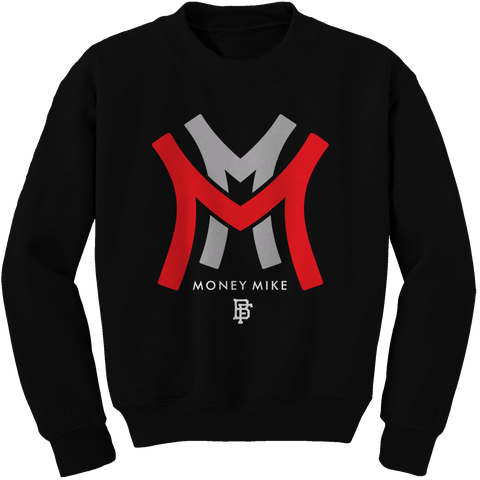 Money metro Black (Black Cement) Crewneck