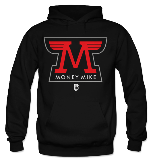 Money Wings Black (Black Cement) Hoodie