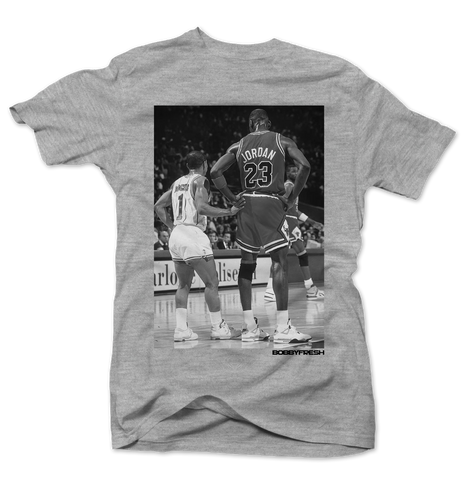 Muggsy & Mj Heather Tee