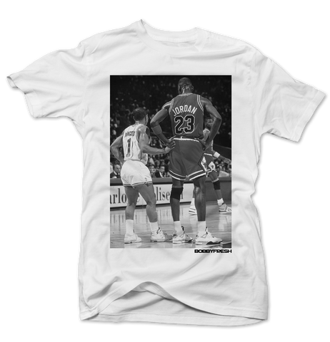 Muggsy & Mj White Tee