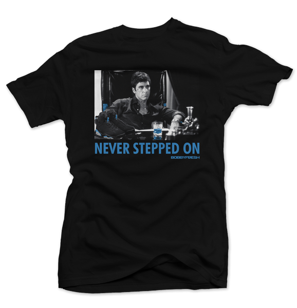 Never Stepped on Unc Black Tee