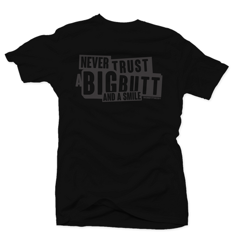 Never Trust 5 Pinnacle Black Tee