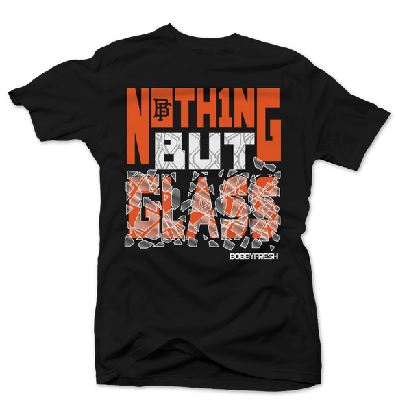 Nothing But Glass Black Tee