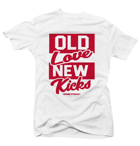 Old Love History of Flight White Tee