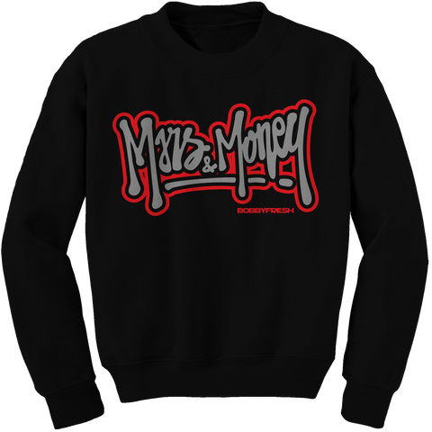 Old School Black Cement Crewneck