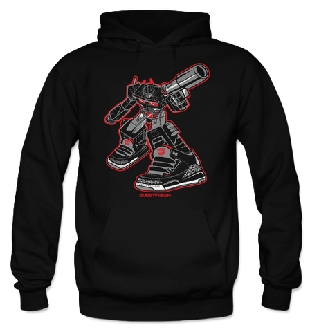 Optimus Black (Black Cement) Hoodie