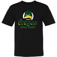Oregon Duck Fresh  Black Tee