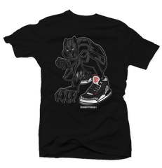 Panther Black Cement Tee
