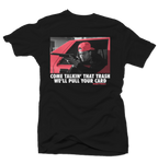 Pull Your Card Black/Infrared Tee - Bobby Fresh