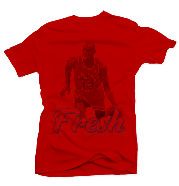 Red Fresh Red Tee