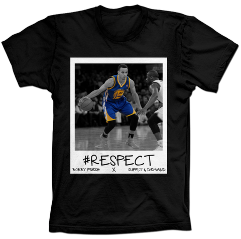 Curry Respect Black Tee