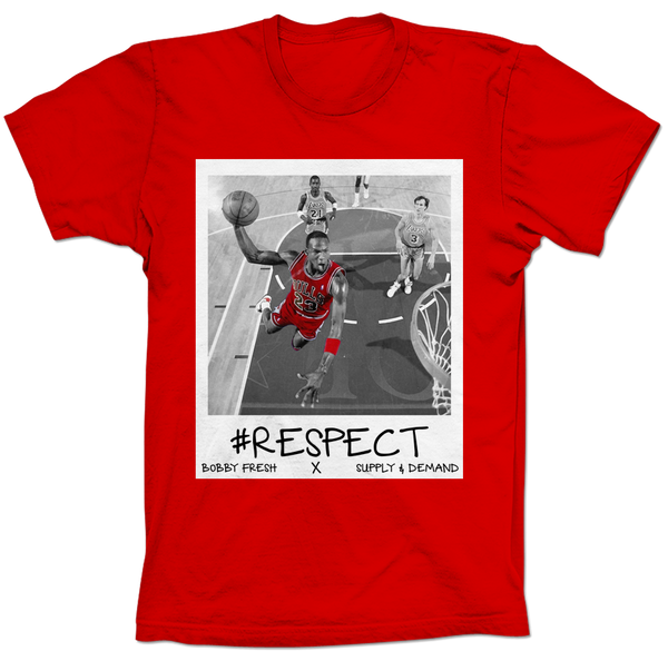 MJ Respect Red Tee