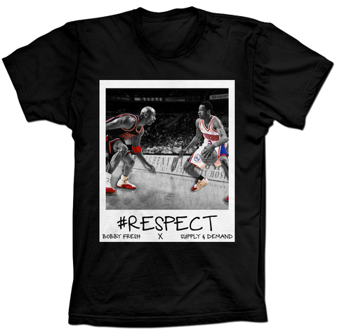 Iverson Respect Black Tee