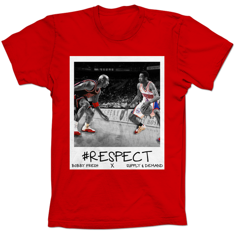 Iverson Respect Red Tee