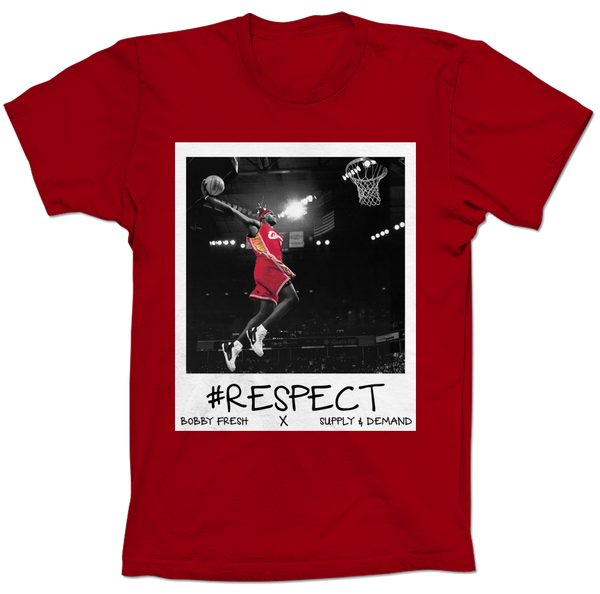 Lebron Respect Red Tee