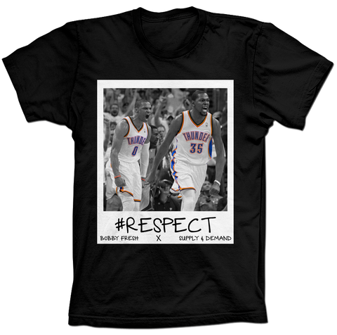 Westbrook & Durant Respect Black Tee