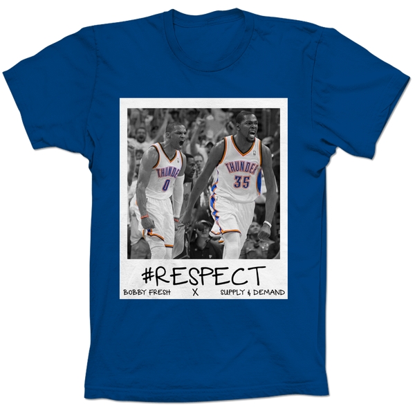 Westbrook & Durant Respect Blue Tee