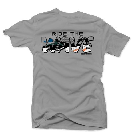 Ride the Wave Grey Tee