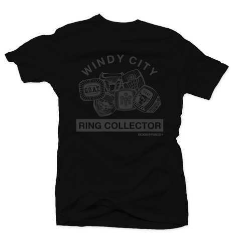 Ring Collector Pinnacle 5 Black Tee