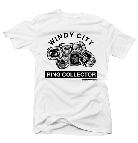 Ring Collector Wht/Blk Tee