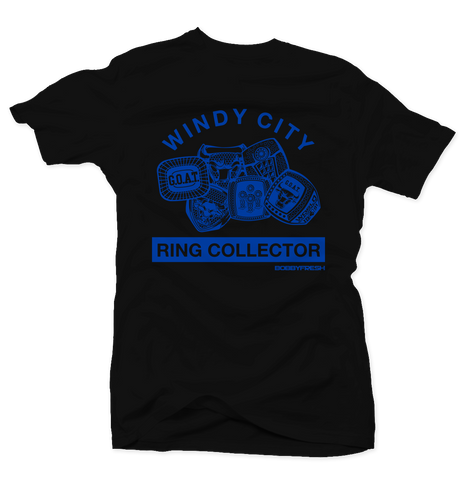 Ring Collector Blk/Blue Tee
