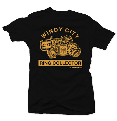 Ring Collector Blk/Chutney Tee