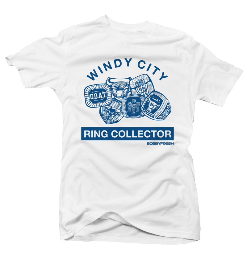 Ring Collector Wht/Flint Tee - Bobby Fresh