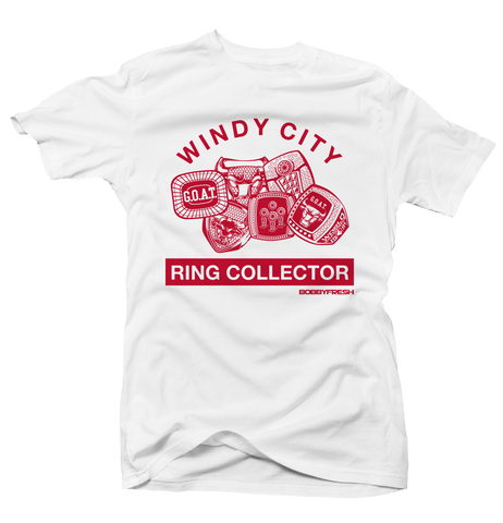 Ring Collector History of Flight White Tee