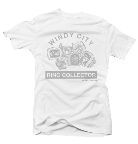 Ring Collector Wht/Grey Tee
